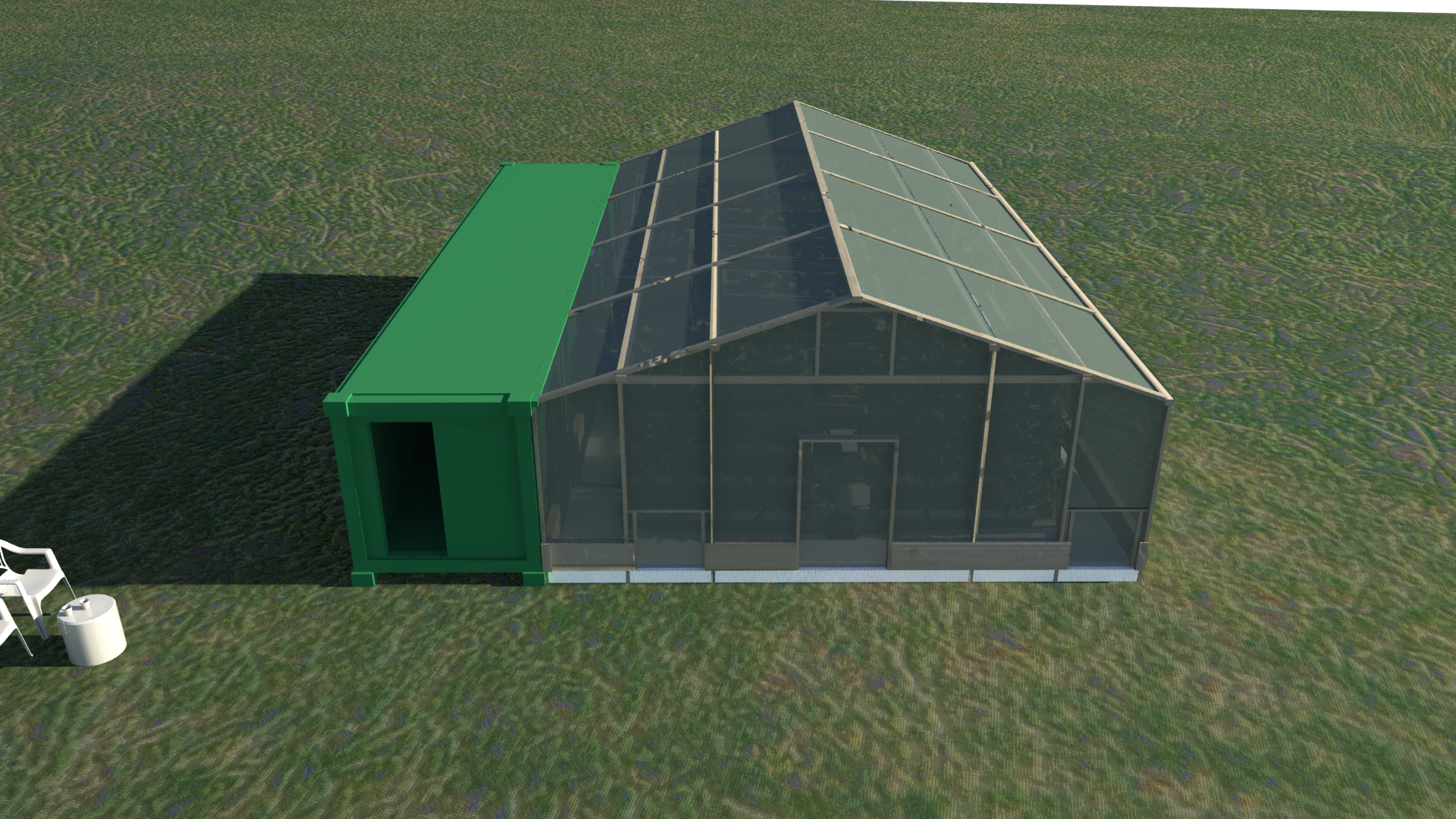 rotate animation greenhouse