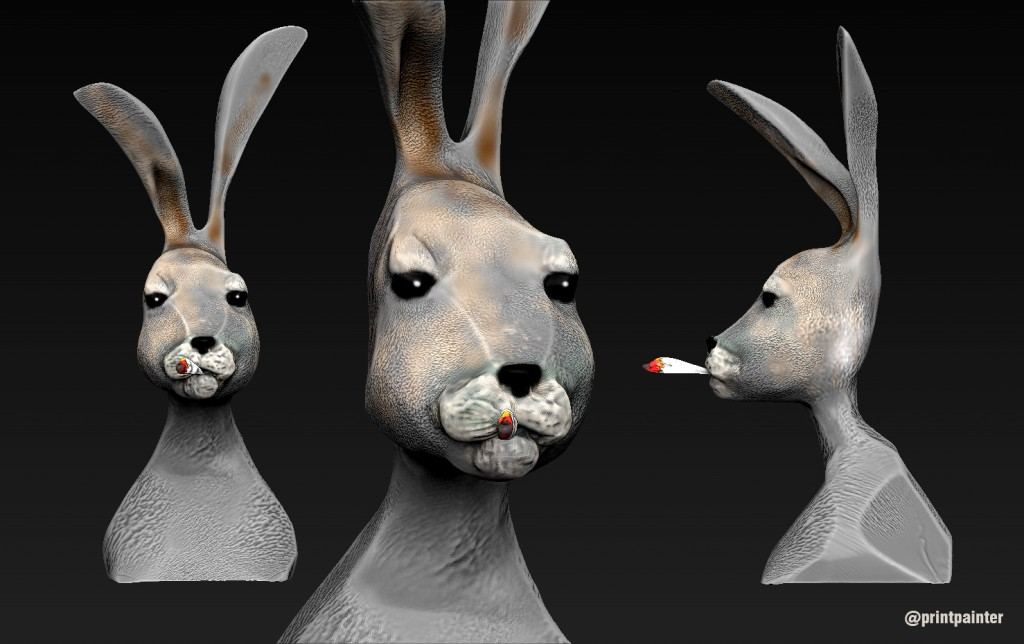 rabbit-smoke