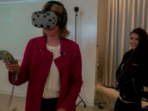 Virtual Reality Experience at Cafe Artscience